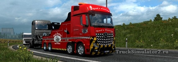 Mercedes-Benz Actros MP4 / Кран