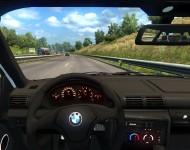 BMW E36 - интерьер салона