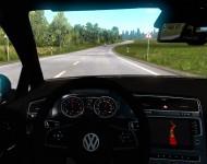 Volkswagen Golf 7 - интерьер