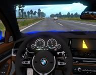 BMW M5 F10 - интерьер