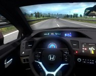 Honda Civic FB7 - интерьер