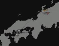 Карта Японии - Project Japan 0.3