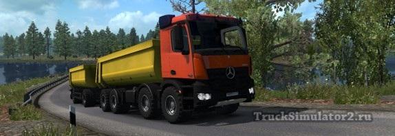 Mercedes-Benz Arocs Agrar