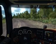 Mercedes-Benz Arocs Agrar - интерьер