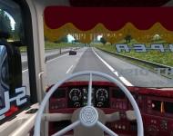 Scania R500 C&M Transport - интерьер