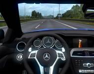 Mercedes-Benz C63 AMG - интерьер