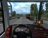 Busscar Vissta Buss HI / Jumbuss 360 - интерьер