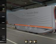 Аэродинамический полуприцеп Mercedes-Benz - тюнинг