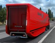 Аэродинамический полуприцеп Scania