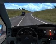 Ford Transit MK7 - интерьер