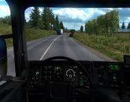 Scania 124G - интерьер