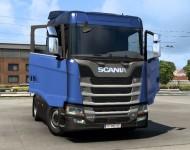 Анимация дверей для тягачей Scania