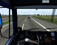 МАЗ-54323 - интерьер