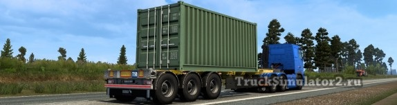 Полуприцеп-контейнеровоз S.CF 45' EURO