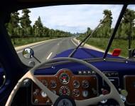 Mack B61 1953 - интерьер