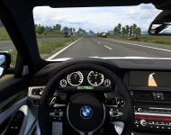 BMW 5-Series F10 - интерьер