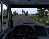 Mercedes-Benz HSK LS 1634 - интерьер